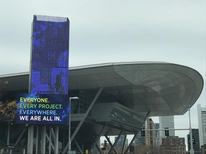 All in at Greenbuild 2017