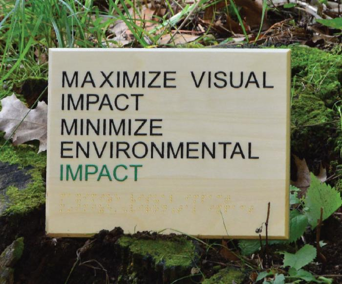 Sustainable ADA Signage – Top Six Trends