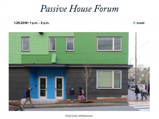 Passive House Affordable Housing