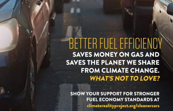 Pledge Your Support for Vehicle Emissions Standards - Climate Reality