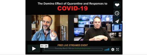 Quarantine and Responses to COVID-19, by Healthy Indoors, The Building Performance Workshop, and the Maine Indoor Air Quality Council