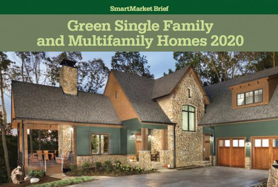 2020 Green Single Family and MultiFamily Homes SmartMarket Brief