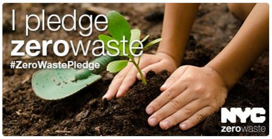 Become part of the solution! Pledge Zero Waste!