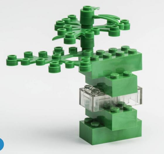 Lego Looks to Plants as Building Blocks for Bricks