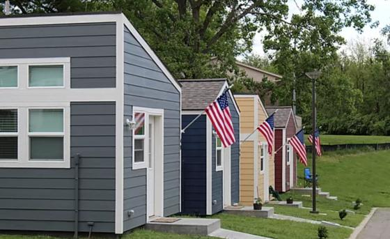 Tiny Homes for Veterans