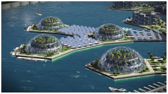 As climate change accelerates, floating cities look like less of a pipe dream