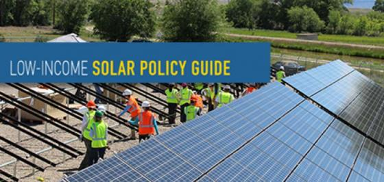 Low Income Solar Policy Guide and toolbox- by lowincomesolar.org