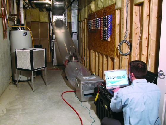 Sanitization - Concrobium Disinfectant II Treatment for Air Duct Systems