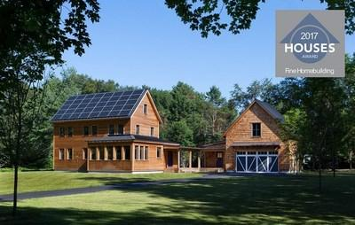 Congratulations to ZeroEnergy Design for Receiving Fine Homebuilding's 2017 Award for Best Energy-Smart Home