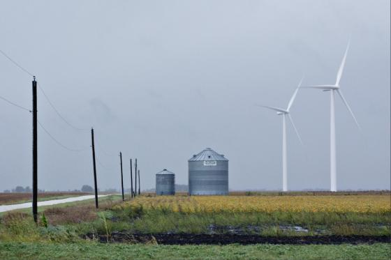 Wind turbines in US Great Plains states produced more than half the Region's Power, for the first time
