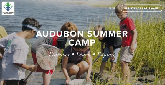 The Audubon Society of RI Seeks Camp Instructors and Assistant Instructors for Summer, 2017