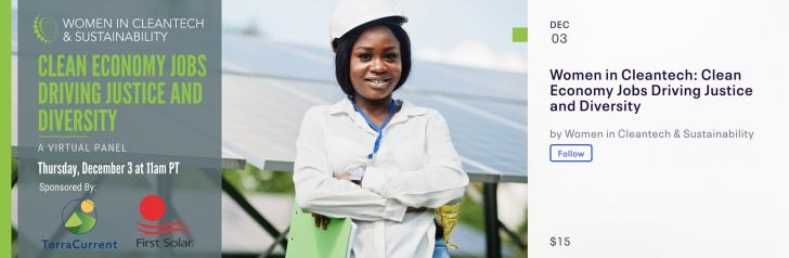 Women in Cleantech: Clean Economy Jobs Driving Justice and Diversity