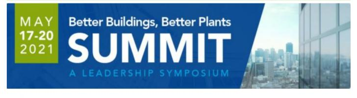 Online: Better Buildings Better Summit 2021