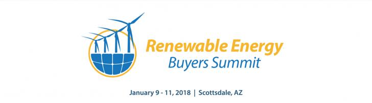 Renewable Energy Buyers Summit, Jan 9 - 11, Scottsdale, AZ