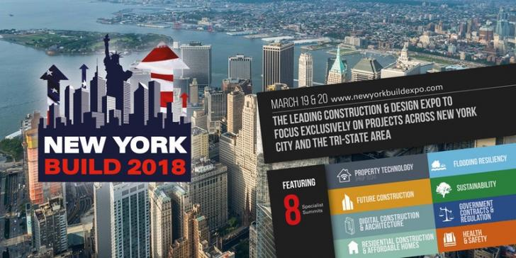 New York Build 2018 -AIA CES workshops and Networking, Mar 19 - 20, New York