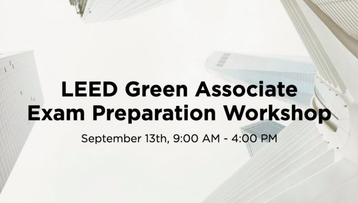 LEED Green Associate Exam prep, New York, NY