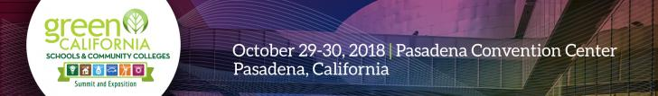 2018 California School Conference by Green Technology