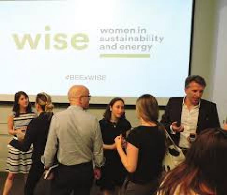 WISE Holiday Party women in sustainability and energy