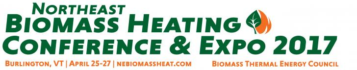 Event: Northeast Biomass Heating Conference & Expo, 4/25 - 4/27, Burlington, VT