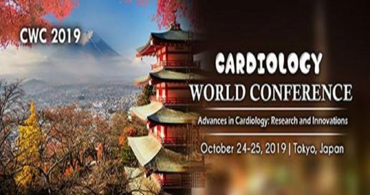 Cardiology World Conference (CWC 2019) in October 24-25, 2019 at Tokyo, Japan