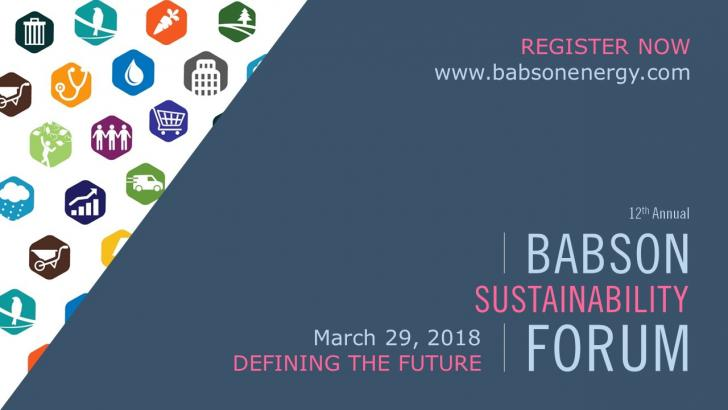 Babson's Sustainability Forum