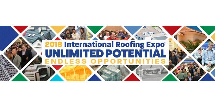 International Roofing Expo, Feb 6-8, New Orleans, Louisiana