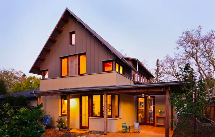 Passive House, Project Green Home, Palo Alto