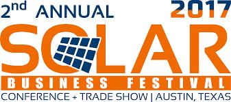 Solar Business Festival 2017: Conference & Trade Show, Nov 29 - 30, Austin, TX