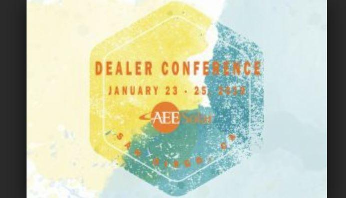 AEE Solar Dealer Conference,