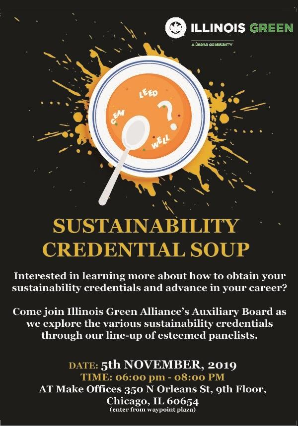 Sustainability Credential Soup Illinois Green Alliance