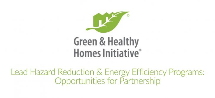 Lead Hazard Reduction & Energy Efficiency