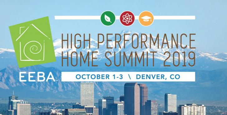 EEBA's High Performance Home Summit