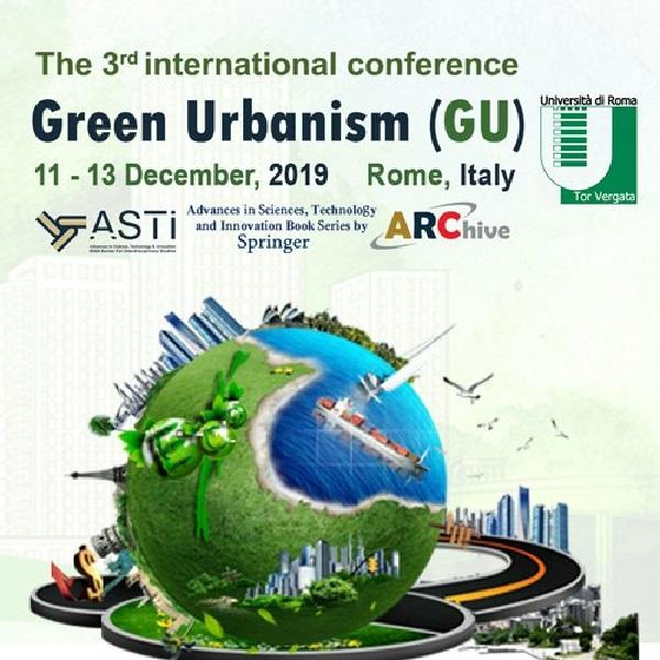 The 3rd International Conference Green Urbanism