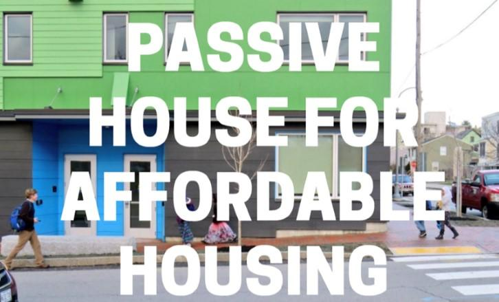 PassiveHouse Affordable Housing Forum