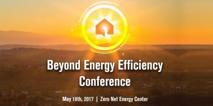 Beyond Energy Efficiency Conference, May 18th 8:00-4:45pm
