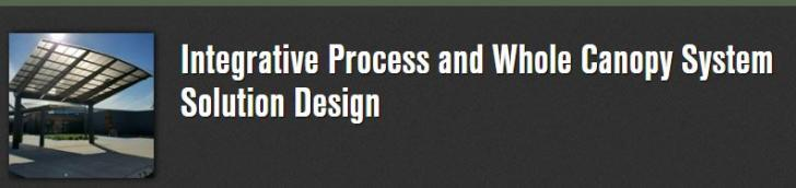Webinar: Integrative Process and Whole Canopy System Solution Design, Wednesday, November 28, 2018 - 12:00pm to 1:00pm EST