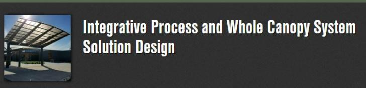 Webinar: Integrative Process and Whole Canopy System Solution Design, Tuesday, October 30, 2018 - 12:00pm to 1:00pm EDT