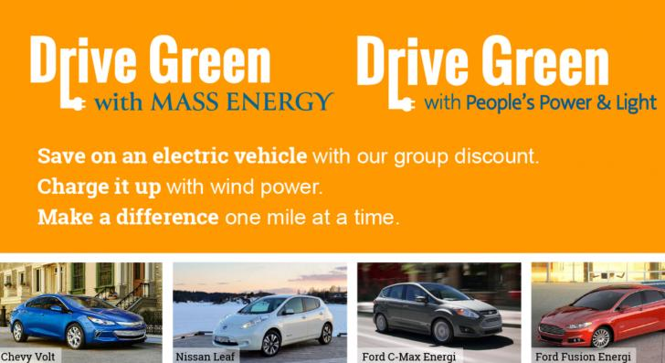 Drive Green Rebate Programs In Ma And Ri Electric Vehicles At Lower