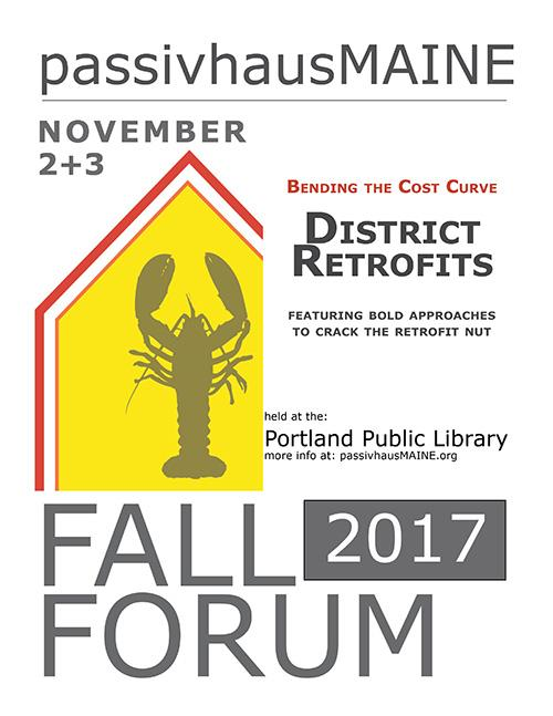 phME Fall Forum 2017: Evening Panel Discussion:  Innovation in Sustainable Construction + District Retrofits, Nov 2, Maine