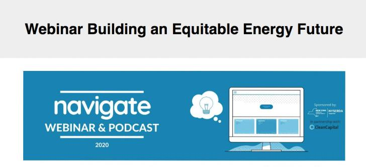 Building an Equitable Energy Future