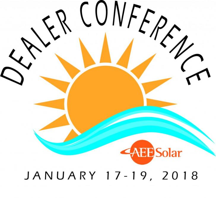 2018 AEE Solar Dealer Conference, Jan 17 -19, San Diego