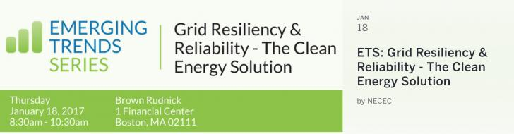 Resilience, Clean Energy