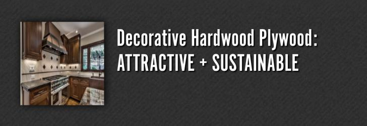 Decorative Hardwood Plywood