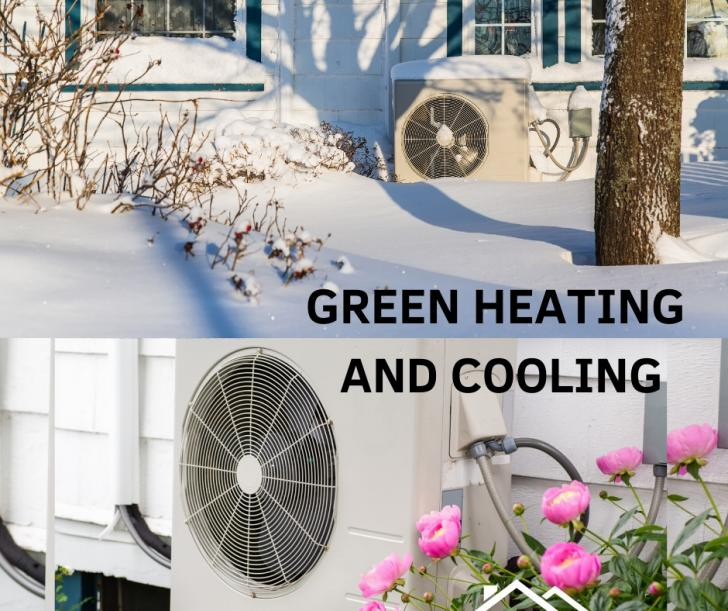 Green Heating And Cooling With Heat Pumps In Wayland