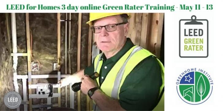 LEED for Homes V4 Green Rater Training