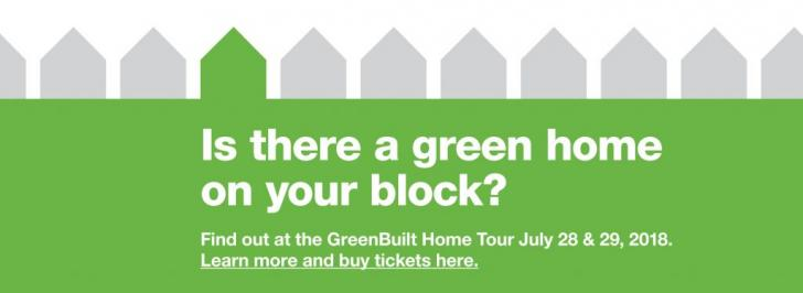 2018 GreenBuilt Home Tour, July 28 and 29, Illinois