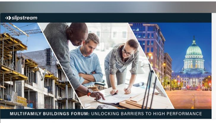 Multifamily Buildings forum: Unlocking Barriers to High Performance,