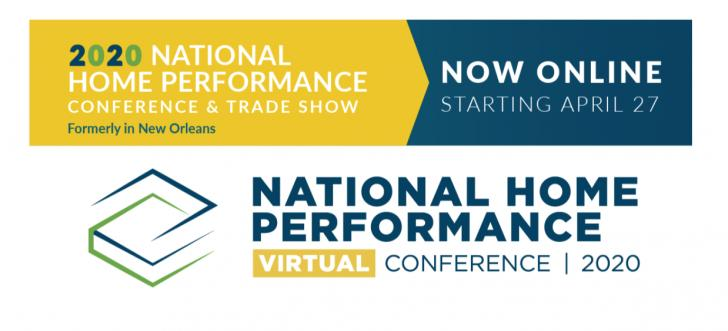 2020 National Home Performance Conference, April 27New Orleans