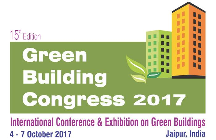 15th Edition, IGBC Green Building Congress, October 4-7, Jaipur, India
