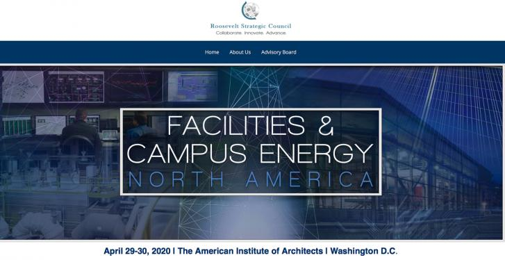 Facilities & Campus Energy, The American Institute of Architects, Washington D.C., April 29-30